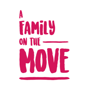 A family on the move logo